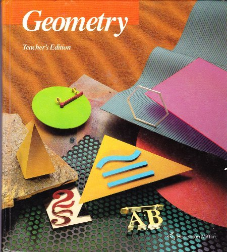 9780395470671: Geometry, Teacher's Edition