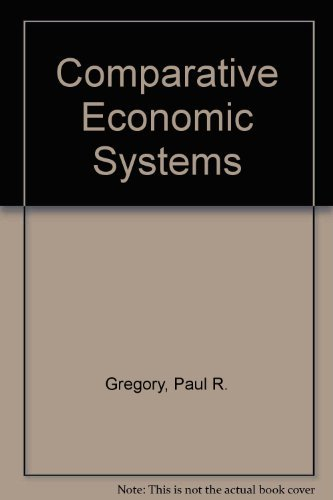 9780395472811: Comparative Economic Systems