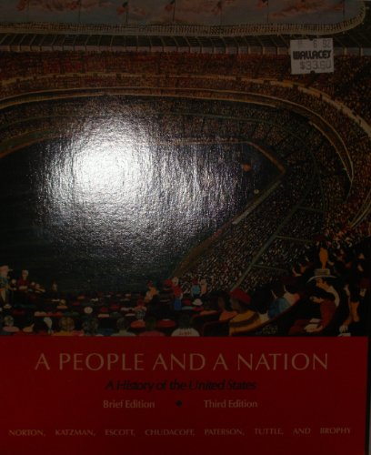9780395473023: A People and a Nation: History of the United States