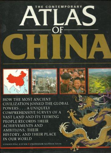 9780395473290: The Contemporary Atlas of China