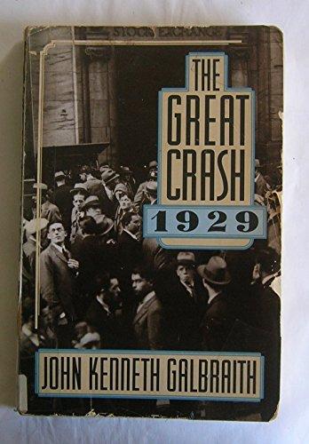 9780395478059: The Great Crash, 1929