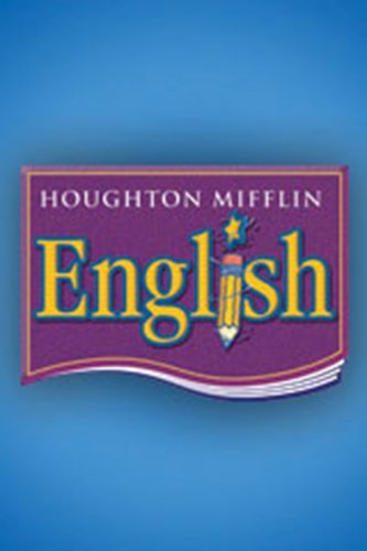 9780395480892: Houghton Mifflin English: Student Book Grade K 1990