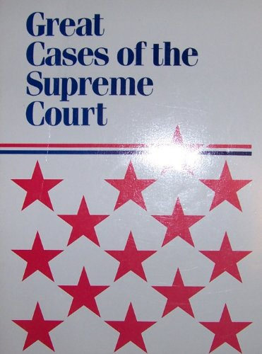 9780395483381: Great cases of the Supreme Court