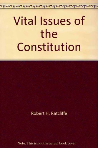 9780395483404: Vital issues of the Constitution