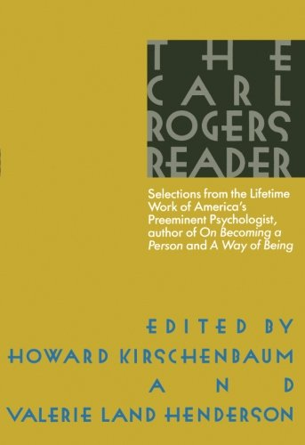 9780395483572: The Carl Rogers Reader