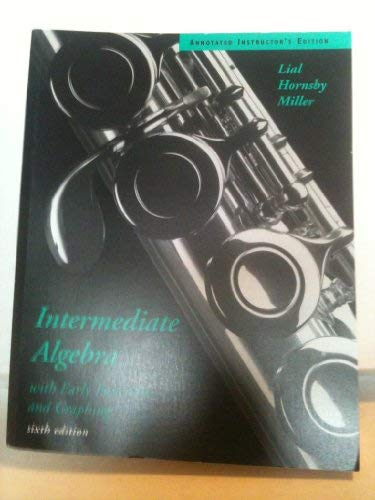 9780395484067: Intermediate Algebra