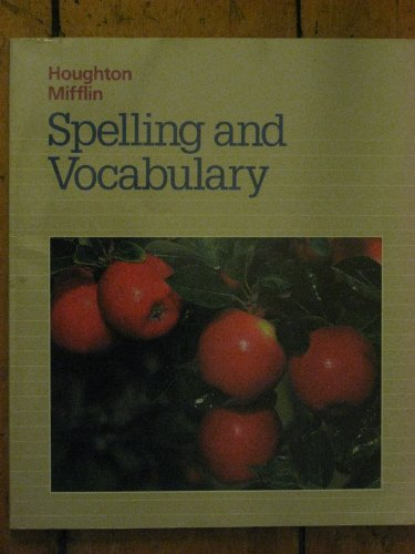 9780395487372: Houghton Mifflin Spelling and Vocabulary: Level 2