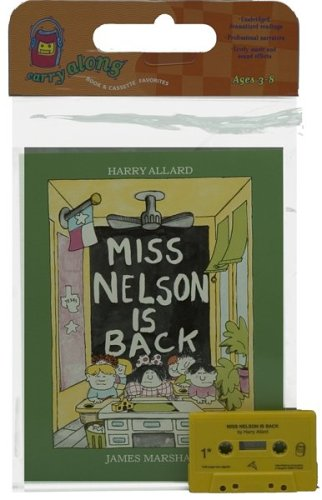 9780395488720: Miss Nelson Is Back Book & Cassette (Book & Cassette Favorites)