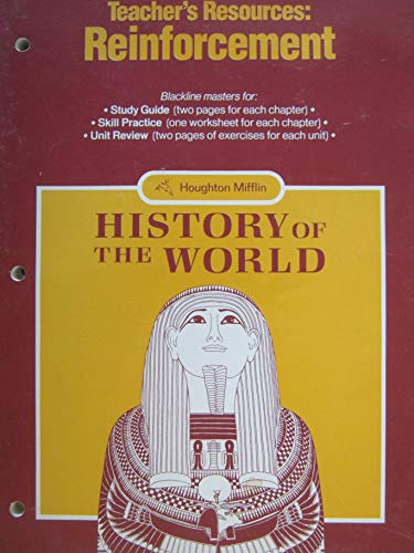 9780395492369: History Of The World (Teacher's Resources: Reinforcement)