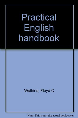 9780395492628: Title: Practical English handbook
