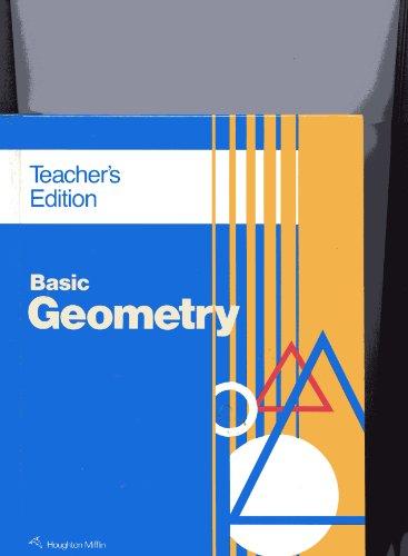 9780395501214: Basic Geometry - Teacher Edition
