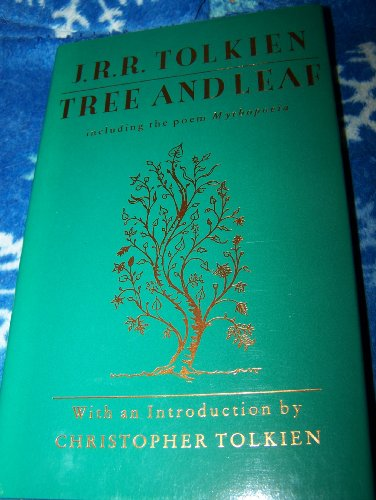 9780395502327: Tree and Leaf: Including the Poem Mythopoeia
