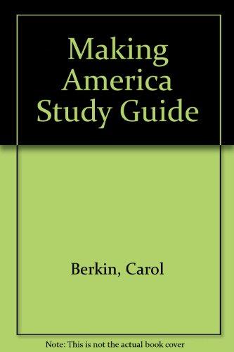 9780395502501: Making America Study Guide