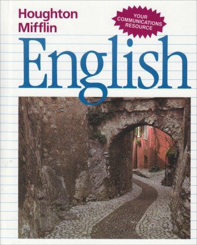 9780395502655: Houghton Mifflin English: Student Text Level 5-1990