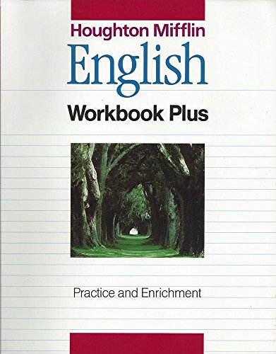 9780395502969: Houghton Mifflin English Workbook Plus - Practice and Enrichment