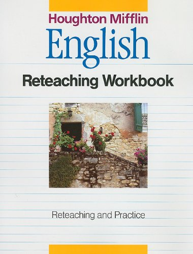 9780395503607: Houghton Mifflin English Reteaching Workbook