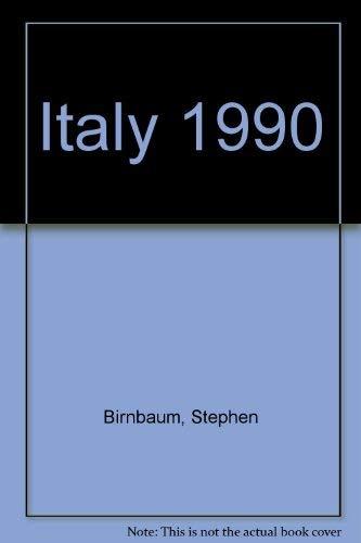 Italy 1990: Birnbaum, Stephen