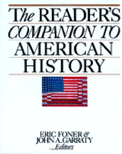9780395513729: The Reader's Companion to American History