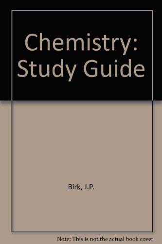 9780395515365: Chemistry: Study Guide