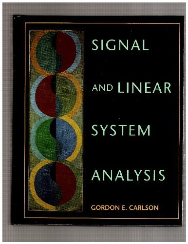 9780395515389: Signal and Linear System Analysis