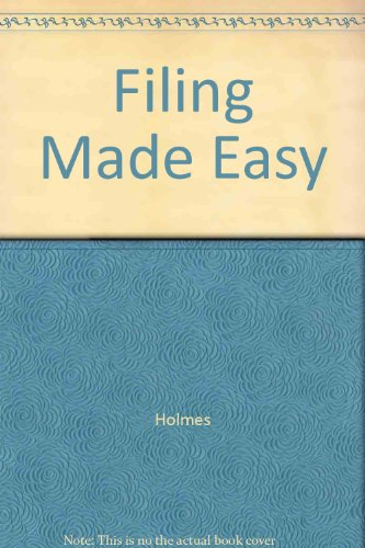 9780395516584: Filing Made Easy