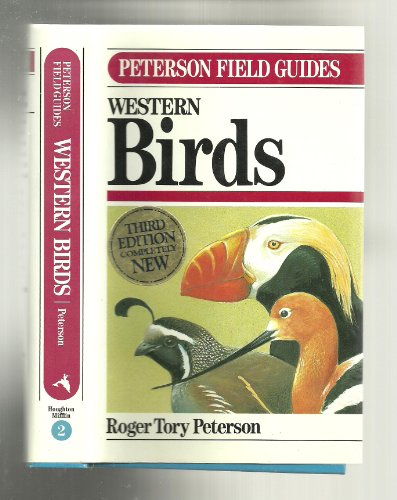 Field Guide to Western Birds/Limited (9780395517482) by Roger Peterson