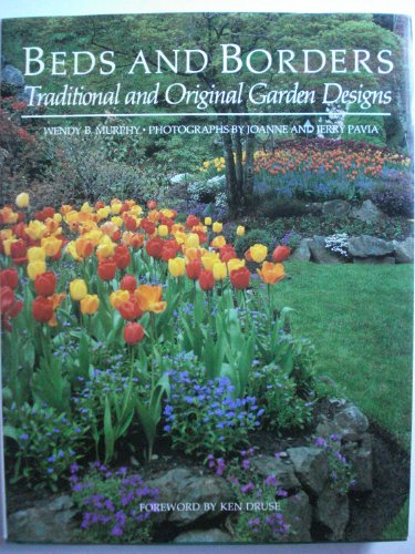 9780395517598: Beds and Borders: Traditional and Original Garden Designs