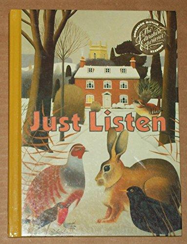 9780395519219: Just Listen (Grade Three Reading Book)