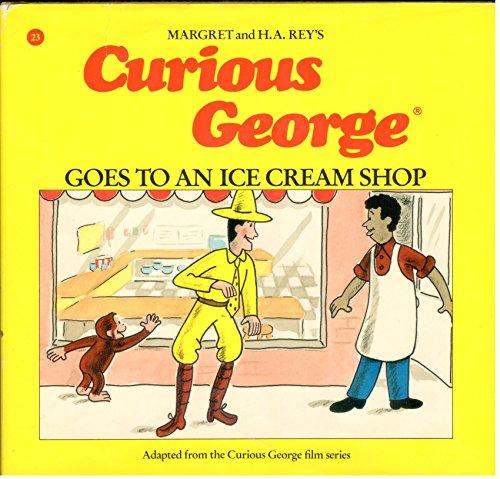 9780395519431: CUR GEO ICE CREAM SHOP (Curious George)
