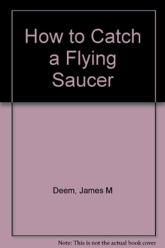 9780395519585: HOW TO CATCH A FLYING SAUCER