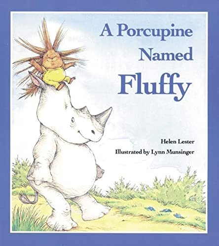 9780395520185: A Porcupine Named Fluffy