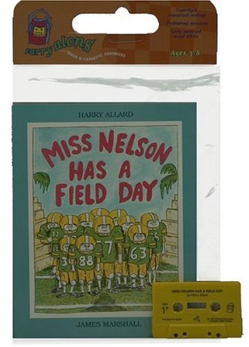 9780395521380: Miss Nelson Has a Field Day Book & Cassette