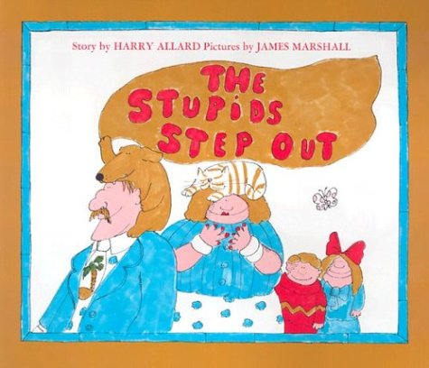 9780395521397: The Stupids Step Out