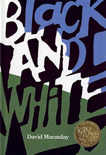 9780395521519: Black and White (CALDECOTT MEDAL BOOK)