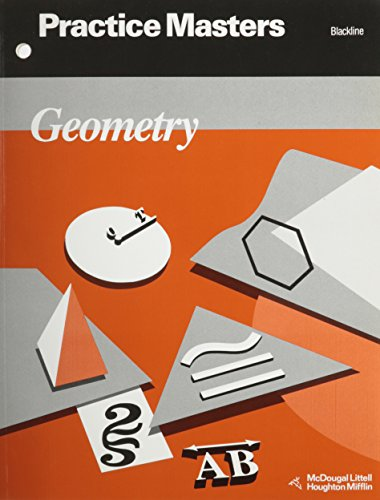Geometry: Practice Masters, Blackline: Ray C. Jurgensen