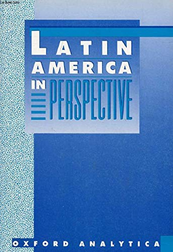 9780395525838: Latin America in Perspective