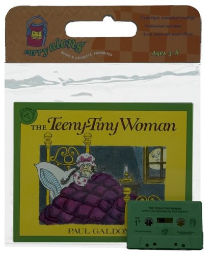 9780395526026: The Teeny-Tiny Woman Book & Cassette [With Book]