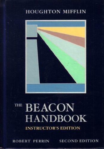 9780395526866: Beacon Handbook 2nd Edition