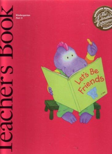 9780395531570: Teacher's Book Let's Be Friends Kindergarten Part 2 (Houghton Mifflin Reading The Literature Experience)