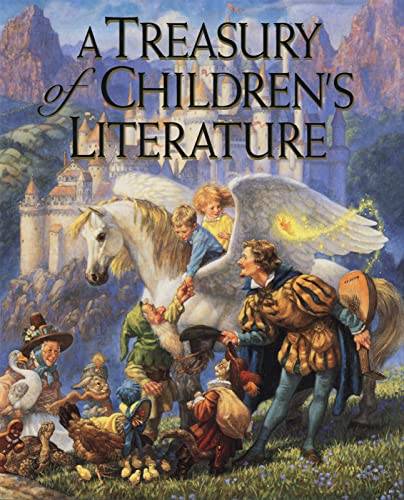 9780395533499: A Treasury of Children's Literature
