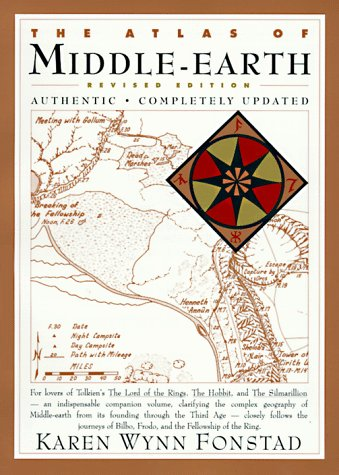 9780395535165: The Atlas of Middle-Earth