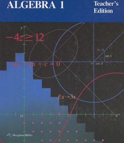 9780395535905: Algebra 1