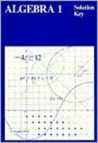 9780395535912: Algebra 1 (Solution Key)