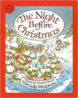 9780395536247: NIGHT BEFORE CHRISTMAS CL