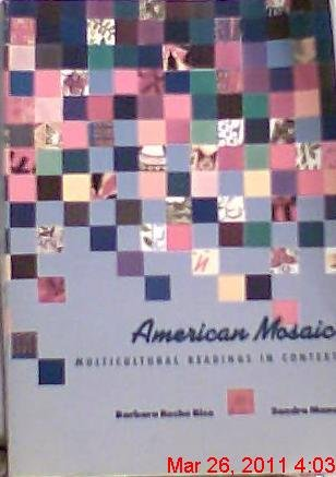 9780395536902: American mosaic: Multicultural readings in context