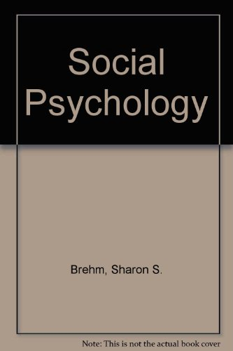 9780395538043: Social Psychology