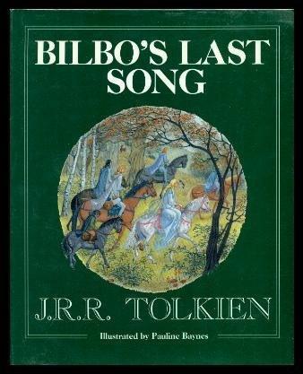 9780395538104: Bilbo's Last Song: At the Grey Havens