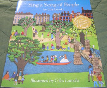 9780395538906: Sing a Song of People (Houghton Mifflin Reading)