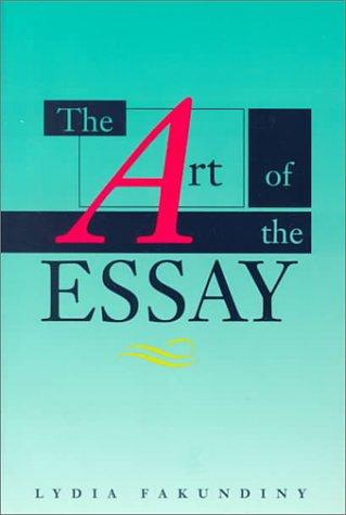 9780395544419: Art of the Essay