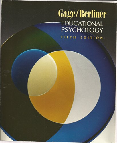 9780395545560: Educational Psychology